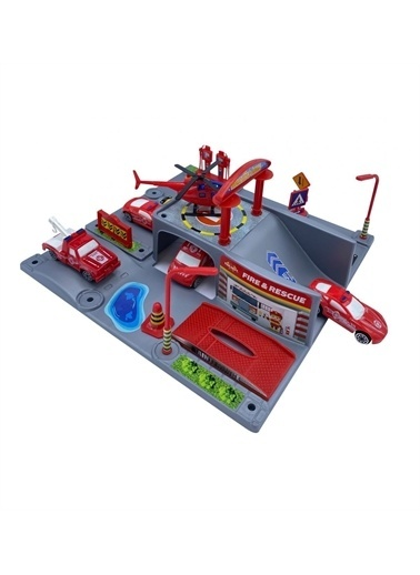 Mgs Oyuncak Mgs 5740 Smart Wheels ıtfaiye Garajı Renkli